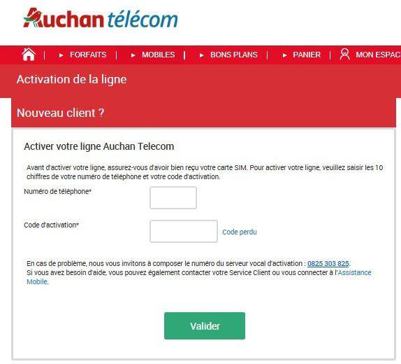 activer carte fidélité auchan Carte : Auchan Activer Carte