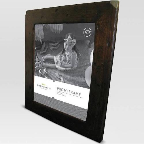 8x10 Frame Candlenut Distressed Threshold Distressed Walnut