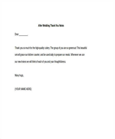 FREE 42  Thank You Note Examples in PDF   DOC   Examples