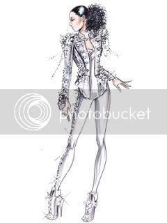 Alicia Keys,Giorgio Armani,Concert Costumes