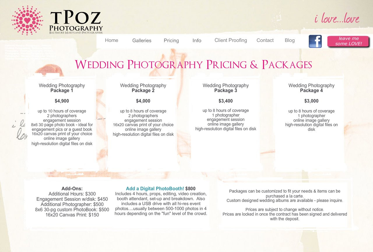 Wedding Photography Packages.Pre Wedding Photography Packages Prices