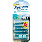Refresh Your Car Dual Vent Stick, Alpine Meadow & Summer Breeze - 6 pack