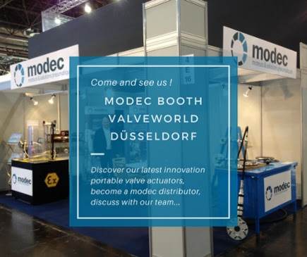 Come and meet Modec at Valveworld in Düsseldorf, Germany on November the 27th, 28th and 29th