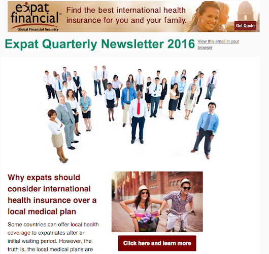 Expat Quaterly Newsletter - Expat Financial International health insurance