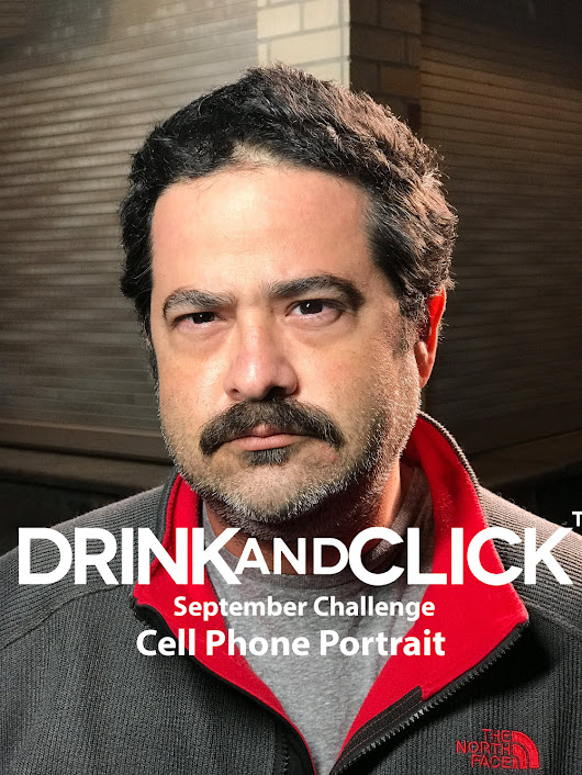 Drink and Click™ September Challenge - Cell Phone Portrait