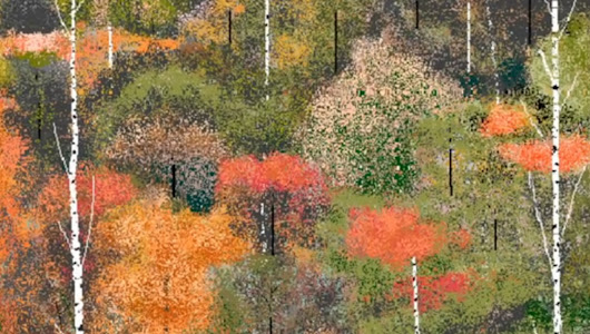 Hal Lasko, Partially Blind 97-Year-Old, Uses Microsoft Paint To Make Masterpieces (VIDEO)
