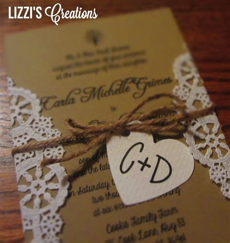 cheap diy rustic wedding invitations   Google Search