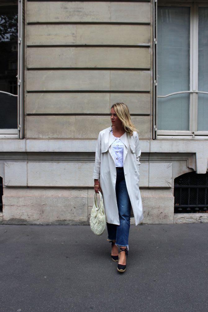 photo 3-top tendance mexique trench long beige blond Pauline Le 58 espadrilles castaner_zps98l09ndh.jpg
