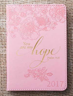 You Are My Hope Daily Planner 2017 | Free Delivery @ Eden.co.uk