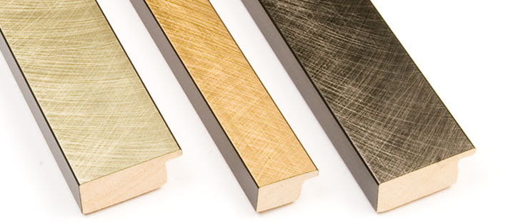 Lpm Picture Frames Classics Brushed Gold And Silver
