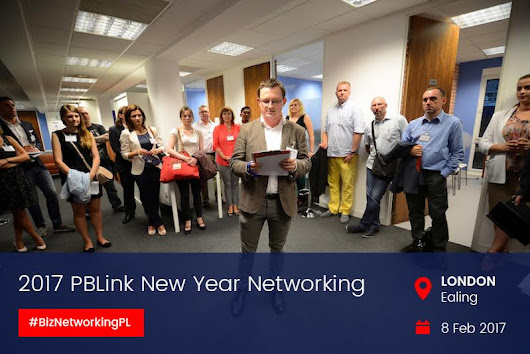 PBLink New Year Networking in Ealing - Capital Business Links