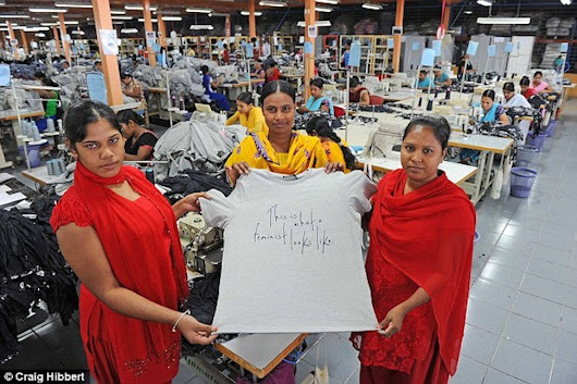 Women Making $70 Feminist Shirts in Factory Paid Under a Dollar an Hour