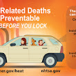 Weekly Tip - Never Leave Kids, Pets, or Older Adults in a Parked Car