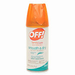 Off Familycare Smooth And Dry Aerosol Insect Repellent, 2.5 Oz