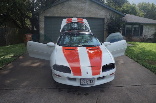 great shape 1997 Chevrolet Camaro Z28 30th Anniversary for sale