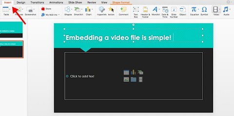 How To Insert Video Into Powerpoint