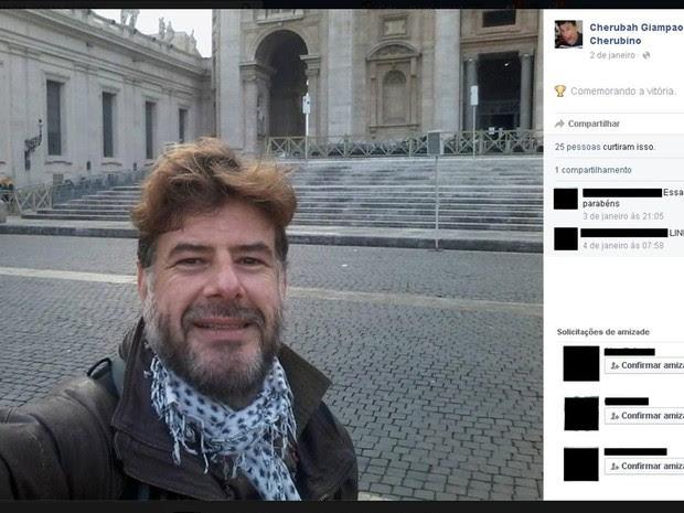 Luiz Giampaoli chegou ao país este ano com cidadania italiana (Foto: Reprodução/ Facebook)