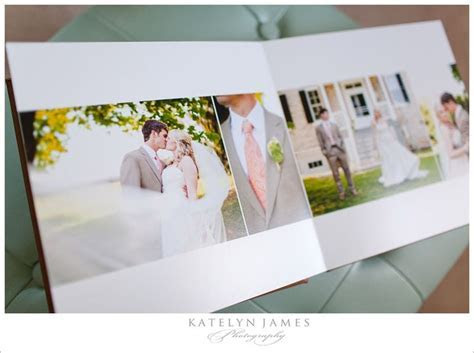 Great examples of square album wedding layout designs