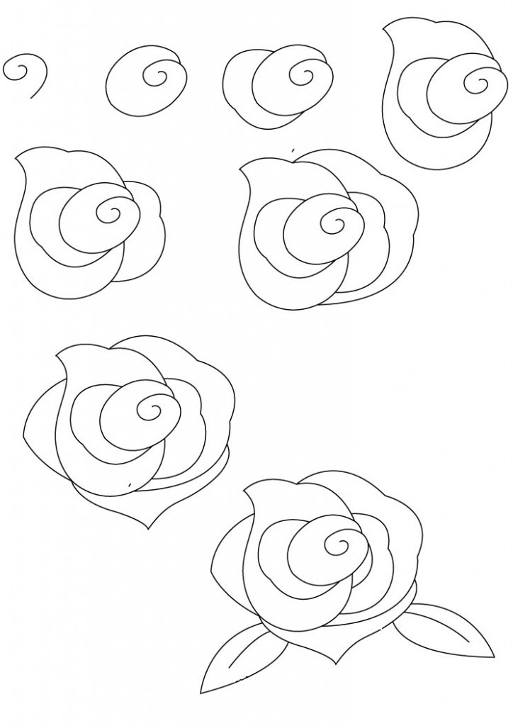 free how to draw roses download free clip art free clip art on clipart library