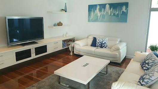 Media Room Design & Style                        - Awesome Makeover! | Gold Coast Interior Design Services - Oceanus Design Co.