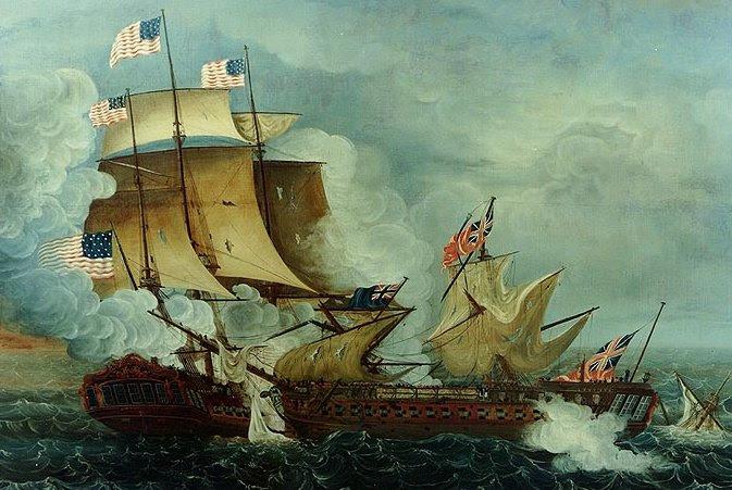 USS Constitution vs HMS Guerriere