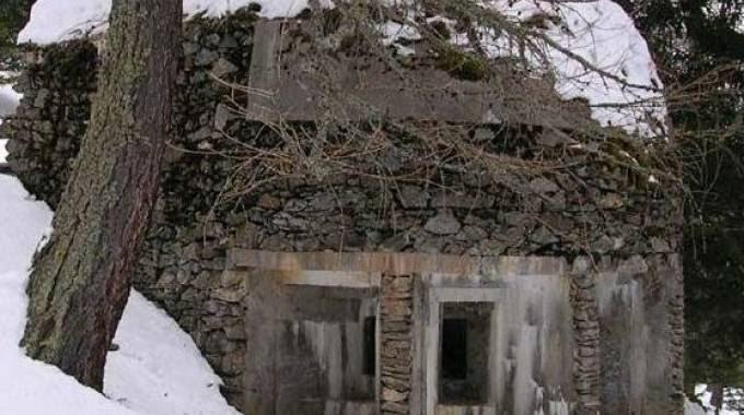 Questa casamatta sul Colle del Gran San Bernardo doveva proteggere l'Italia da un'invasione svizzera