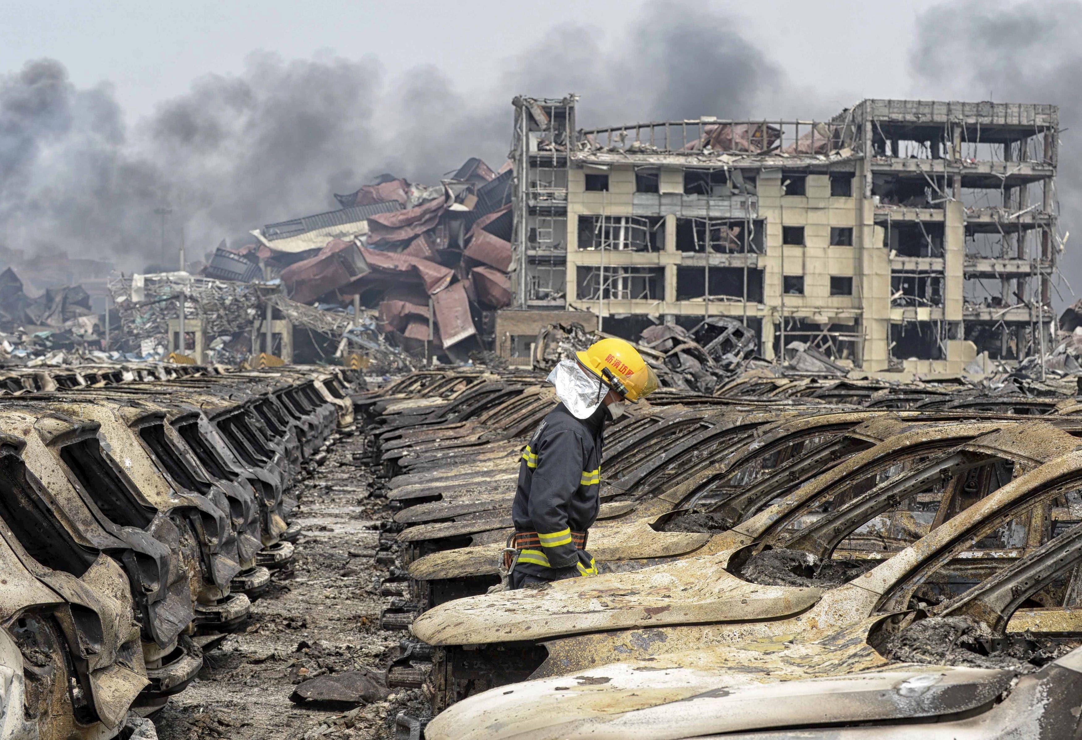 China chemicals Tianjin toxic
