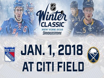 New York Rangers and Buffalo Sabres to play in 2018 NHL Winter Classic at Citi Field