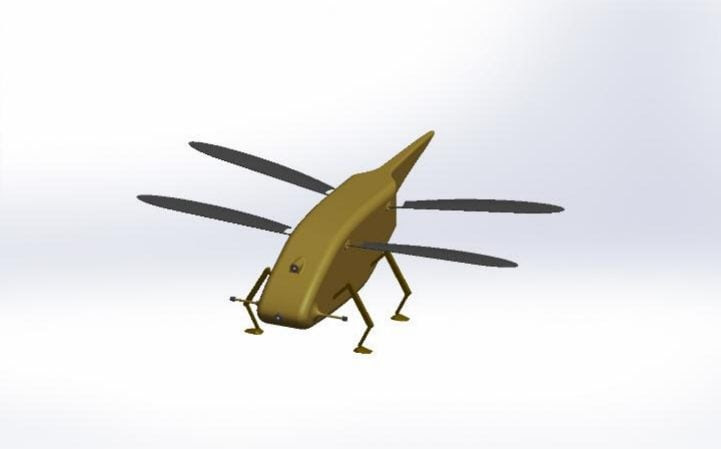 Britain is investing in 'dragonfly drones'