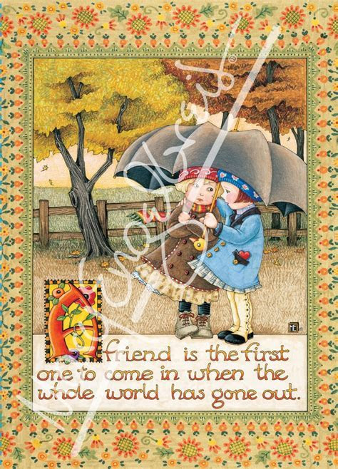 Friend is First Greeting Card ? Mary Engelbreit