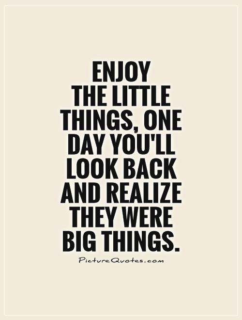 Small Things Quotes Sayings Small Things Picture Quotes