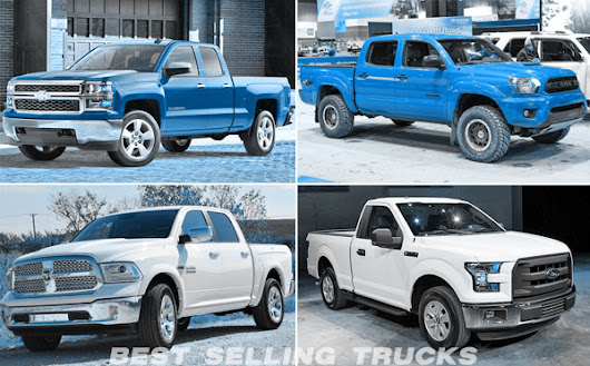 Most Popular Pickup Trucks in USA (Best Selling) - Top 5