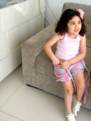 RN - Souza, filha Lavínia (Foto: Arquivo Pessoal)