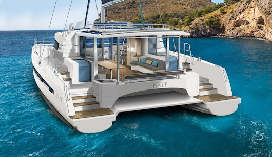 Catamaran Bali 5.4 for charter for luxury sailing in Greece