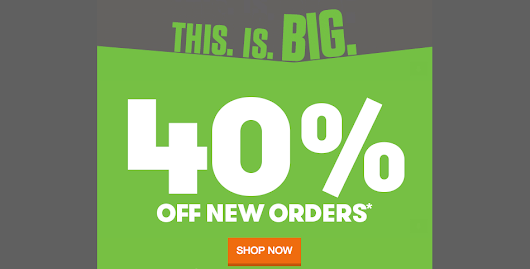 Save 40% OFF on Your New Purchases at GoDaddy - Spring Coupon
