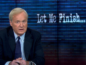 chris matthews hardball let me finish