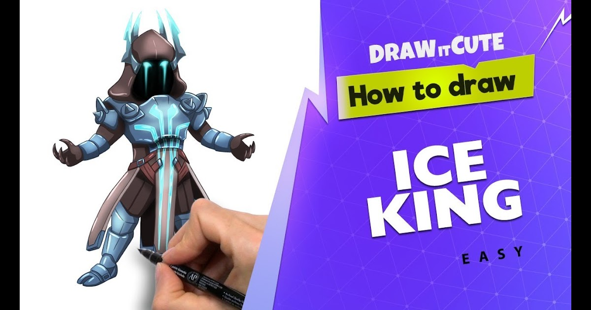 How To Draw Ice King Fortnite Skin Fortnite Free V Bucks
