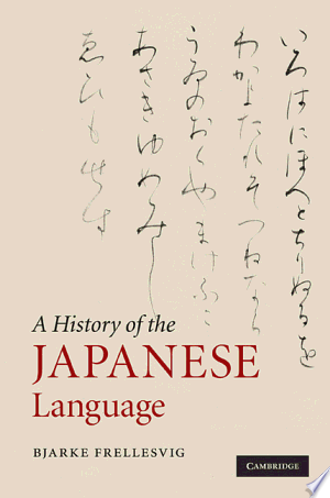 Read Online A History of the Japanese Language PDF