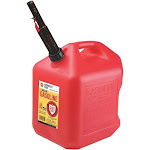 Midwest Can 248474 5 gal Red High Density Polyethylene Gas Can