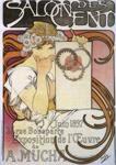 Alphonse Mucha.  Salon des Cent.