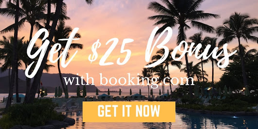Booking.com - Save $25 Off Of Your Next Hotel Stay