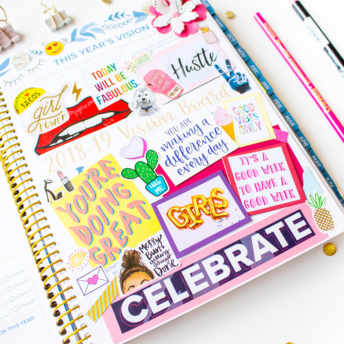 How to Create a Vision Board  bloom daily planners