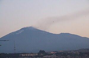 Mount Etna (Αἴτνη (Aítnē) in Classical Greek, ...