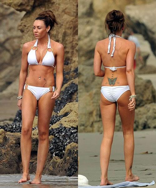 Michelle Heaton Bikini Body