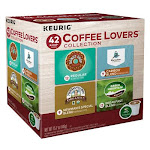 Keurig Green Mountain 236896 Coffee Lovers Collection Single Serving K-Cup - 42 Count