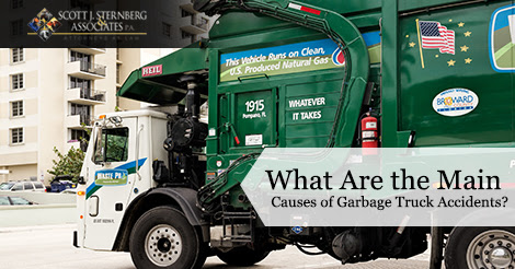 What Are the Main Causes of Garbage Truck Accidents?
