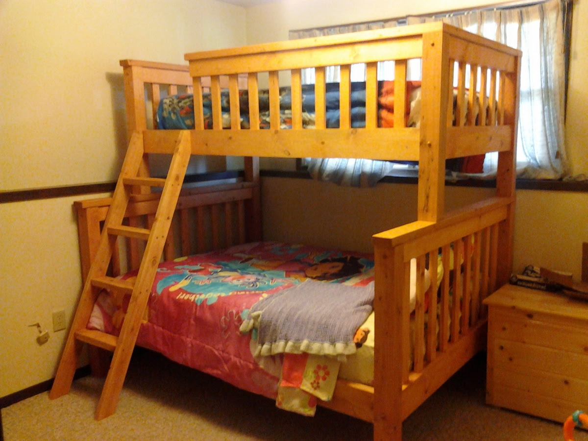 Ana White | Twin over Full Bunk Beds - DIY Projects