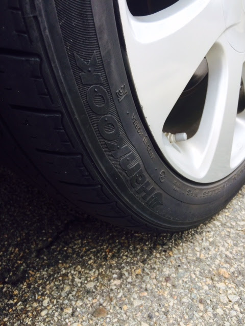 2013 Hyundai Elantra Bubbles On Tire Side Wall 14 Complaints
