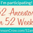 Kicking off 2018 with #52Ancestors Week 1