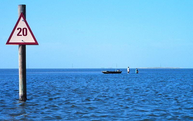 File:Padre Island National Seashore - fishing in Laguna Madre.jpg